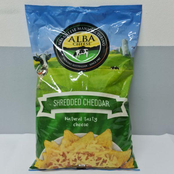 Shredded Cheddar 2kg