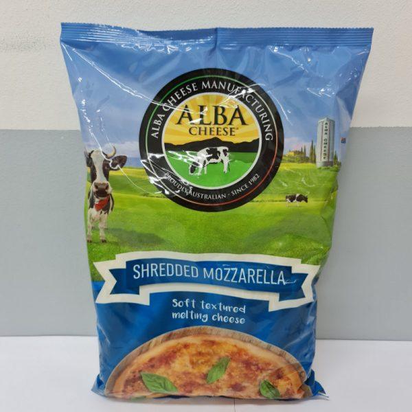 Shredded Mozzarella 2kg