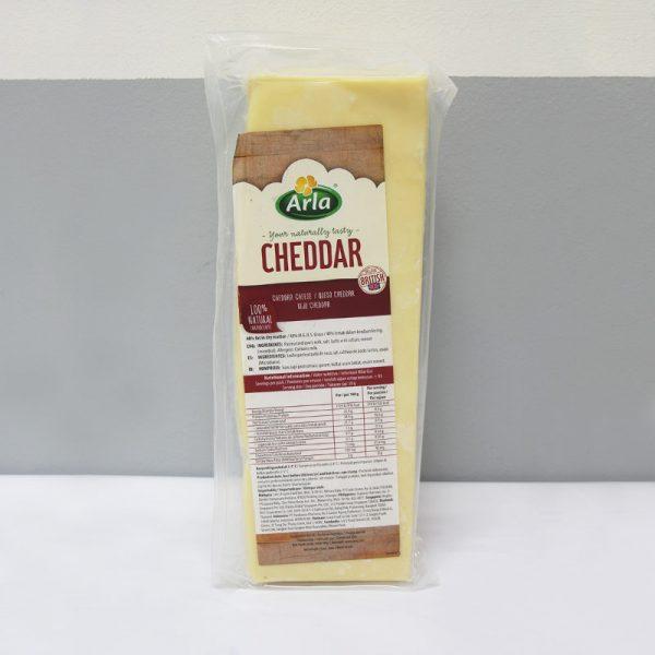 Mild Cheddar White Block +/-2.5kg