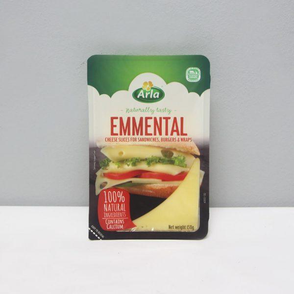 Danish Emmental Sliced 150g