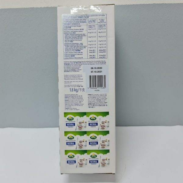 Natural Cream Cheese Block 1.8kg