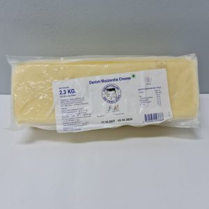 Frozen Danish Mozzarella Block 2.3kg
