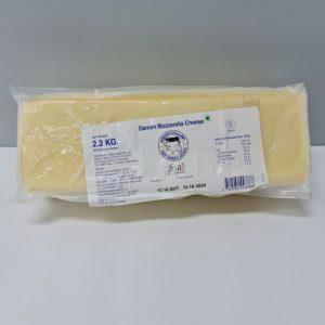 Frozen Danish Mozzarella Block 2.3kg