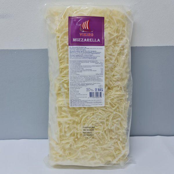 Frozen Viking Shredded Mozzarella 2Kg