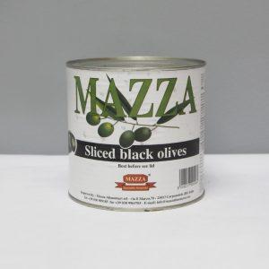 Sliced Black Olives 2.65kg
