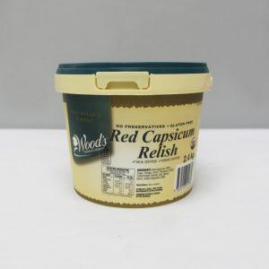 Red Capsicum Relish 2.4kg
