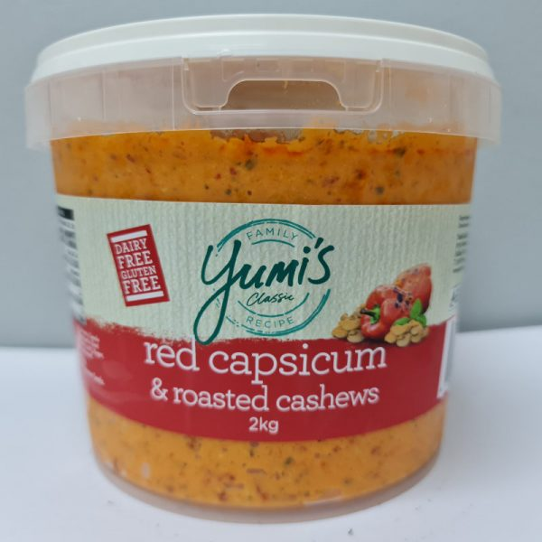 Red Capsicum & Roasted Cashews 2kg